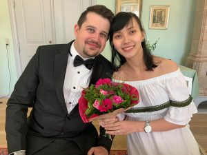 Wedding in registry office in Denmark